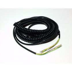 Spiral-Kabel 5 Adern lang