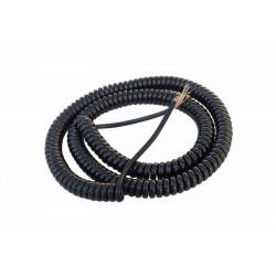 Spiral-Kabel 6 Adern kurz