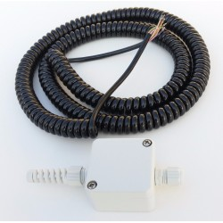 Spiral-Kabel 6 Adern kurz...