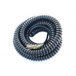 Spiral-Kabel 6 Adern XXL 6...
